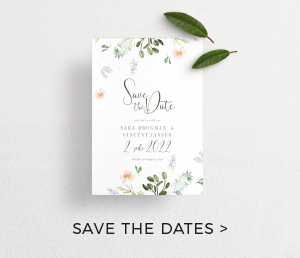 Inspiratie Save the Dates