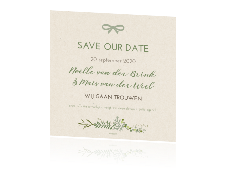 Save the date met Quote