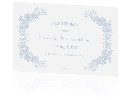 Save the date met