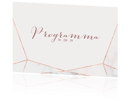Vaak Programma met sierlijke letters en strakke achtergrond @LV38