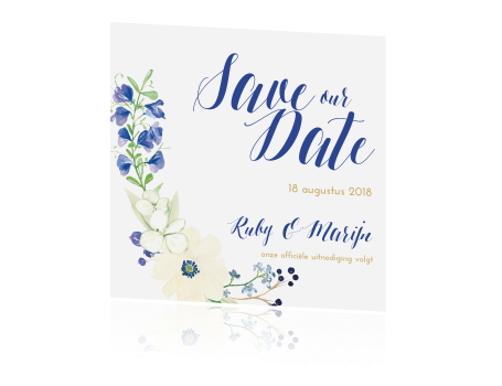 save the date met foto bohemian